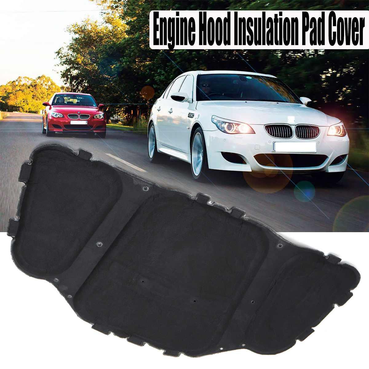 Car Auto Sound Deadening Cotton Heat Insulation Pad Automobiles Interior Accessories for BMW E60 E61 525i 528i 530i 51487148208