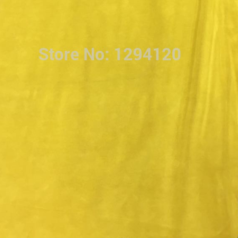Genuine Split Yellow Cow   Suede     Leather   for Handbag/ Sandals/accessory ,Free Shipping