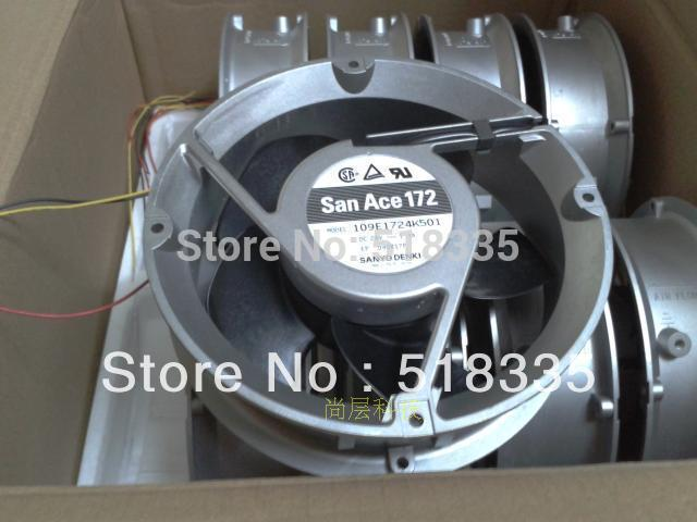 ФОТО Free Shipping!Sanyo 17251 109E1724K501 DC 24V 1.3A server inverter converter cooling fan