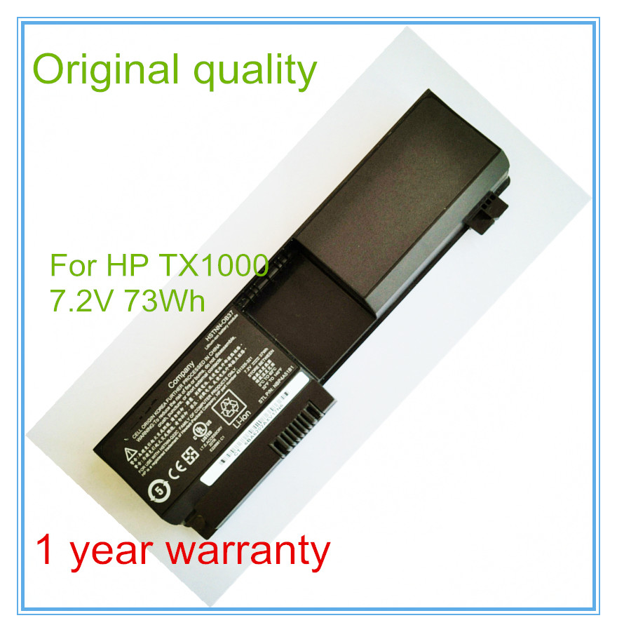 73WH Original New Laptop Battery for TX1000 TX1100 <font><b>TX1200</b></font> TX1300 TX2000 image