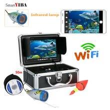 SmartYIBA 7″TFT 50M HD 1000tvl Underwater Fishing Video Camera Fish Finder Device APP Control Video Recording Take Photo Camera