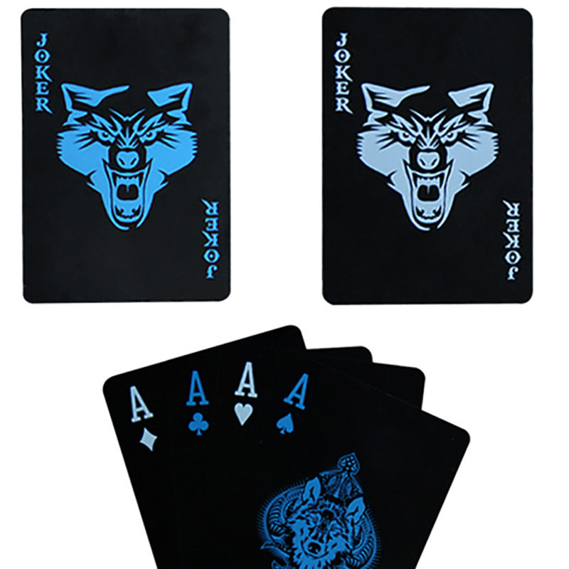 wolf-roses-style-font-b-poker-b-font-cards-frosted-waterproof-pvc-font-b-poker-b-font-playing-cards-black-durable-magic-font-b-poker-b-font-collection-game
