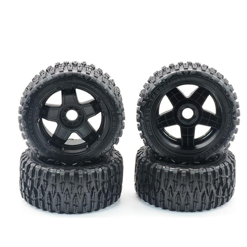 4 pièces/ensemble KKPIT KONE K1-TTE pneus 1/10 RC course courte camion buggy