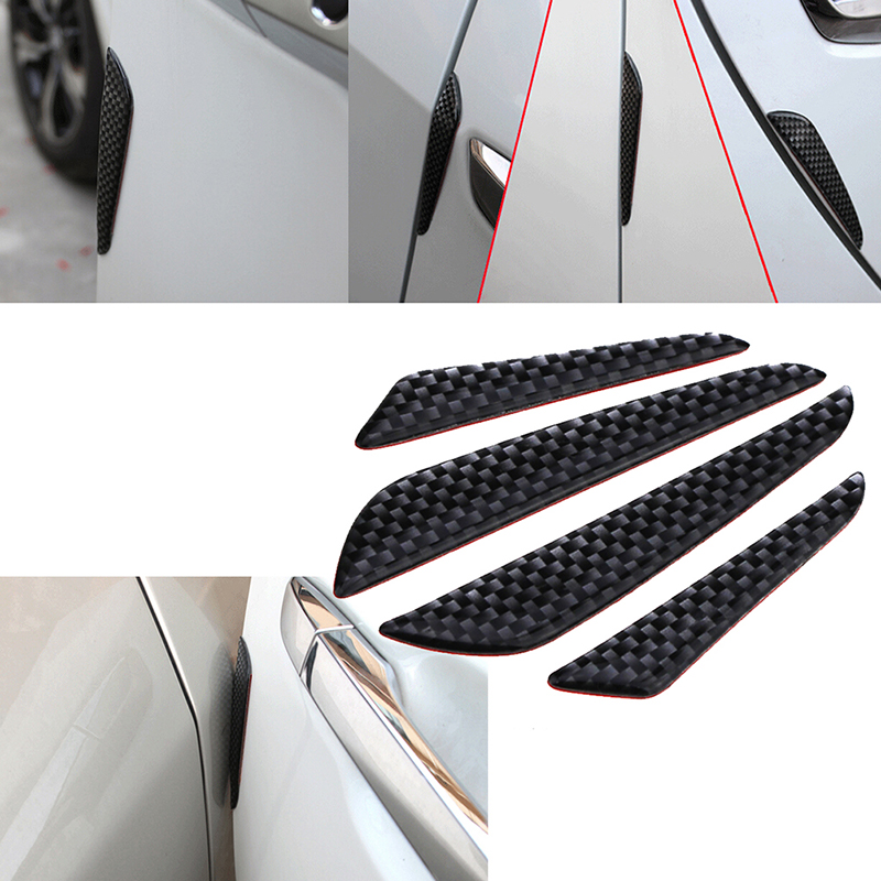 Car Accessories Door Edge Guard Strip Scratch Protector Anti-collision Trim 4pcs