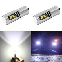 1 Piece P21W 1156 1157 BA15S LED Bulbs Car Lights Turn Signal Reverse Brake Light R5W High Power 12V 24V 45W Automobiles Lamps