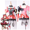 LoveLive! Love Live New UR Maki Nishikino Little Demon Transformed Uniform Dress Halloween Party Cosplay Costume Full Set Custom