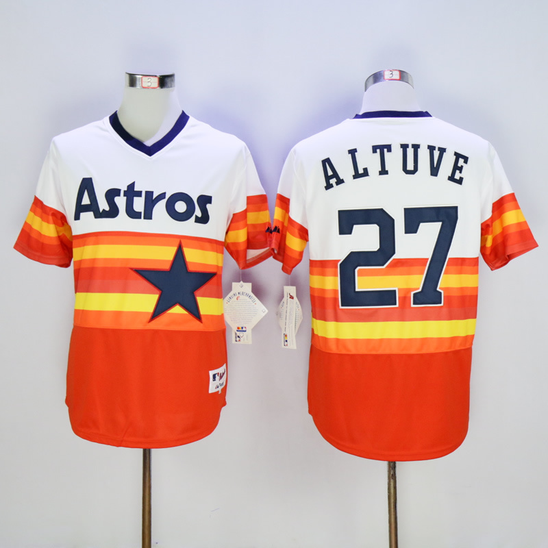 new arrivals 54434 815ff US $25.68 |4 george springer 7 Craig Biggio 27 Jose Altuve 34 Nolan Ryan  Throwback Jerseys Red-in Baseball Jerseys from Sports & Entertainment on ...