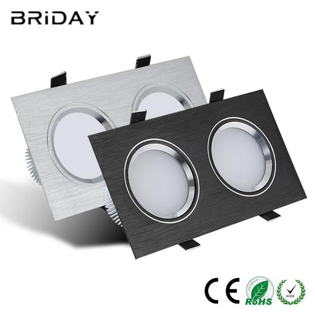 2pcs led down light square 12w 16w 20w led downlight recessed led 2pcs led down light square 12w 16w 20w led downlight recessed led dimmable ceiling down light aloadofball Image collections