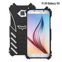 100 Sztuk Dla Samsung Batman Batman Metal Phone Case Side Wspornik Dla millet anty-drop telefon powłoki luksus jakość stent metalowy