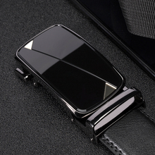 genuine leather Mens Belts High Quality Black belts for men Brand Automatic Buckle fashion male luxury strap designer