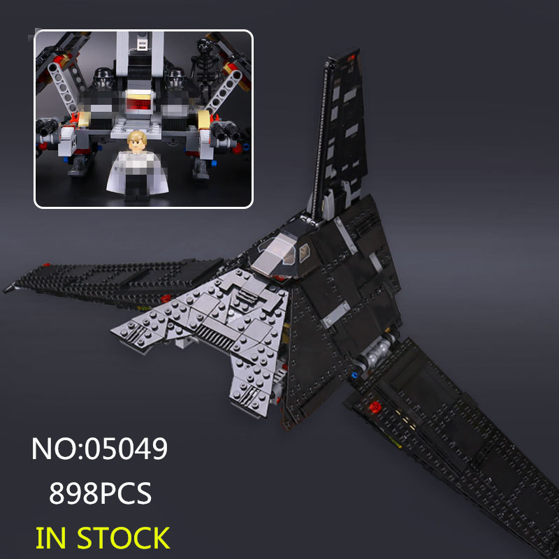 05049 Star Series War The Fighting Star Shuttle Set Building Blocks Bricks Toys Compatible with 75156 rollercoasters the war of the worlds