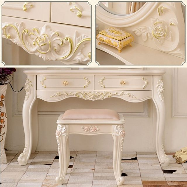 Online Shop SENNLLJUNG Vintage Unpainted Wood Carved Decal Corner ...