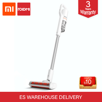 xiaomi roidmi f8 Handheld Vertical Vacuum Cleaner APP Connect LED Dust Collector Multifunctional Brush Anti mite Rechargeable