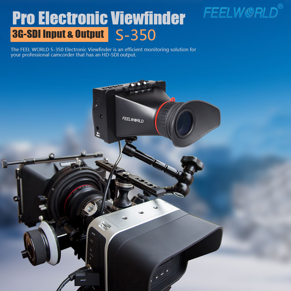 Camera Dslr Camera Viewfinder aliexpress com buy feelworld 3 5 viewfinder sdi electronic lcd dslr camera view finder for canon nikon bmcc bmpcc bmp