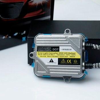 1 Set 12 V 55 W Xenon H7 HID Kit De Conversion H1 H3 H4 H11 9005 Ampoule Auto Voiture Phare Lampe 4300 K 5000 K 6000 K 8000 K 12000 K