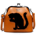 2017 Women Party Cat Bag Ladies Cross Body Women Bags Shoulder & Handbags Messenger Bags Female Leather Shoulder Bags