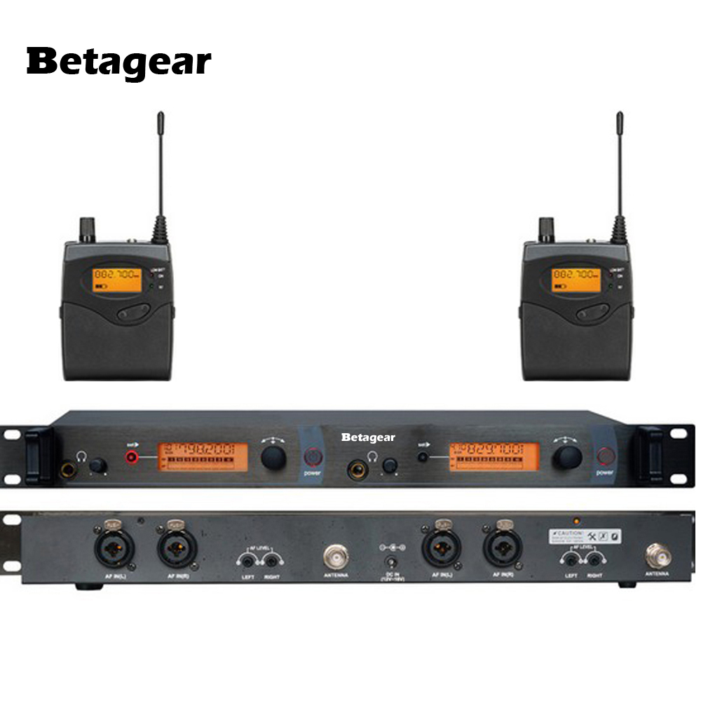 betagear free shipping sr2050 2 in ear monitor system wireless in ear wireless monitors with 2. Black Bedroom Furniture Sets. Home Design Ideas