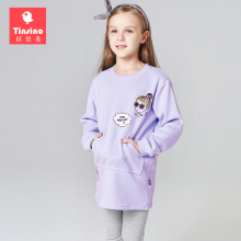 Tinsino Children Girls Winter Dresses Girls Fashion Thickening Dress Kids Girl Autumn Sweatshirts Dress Girls Brand Clothing