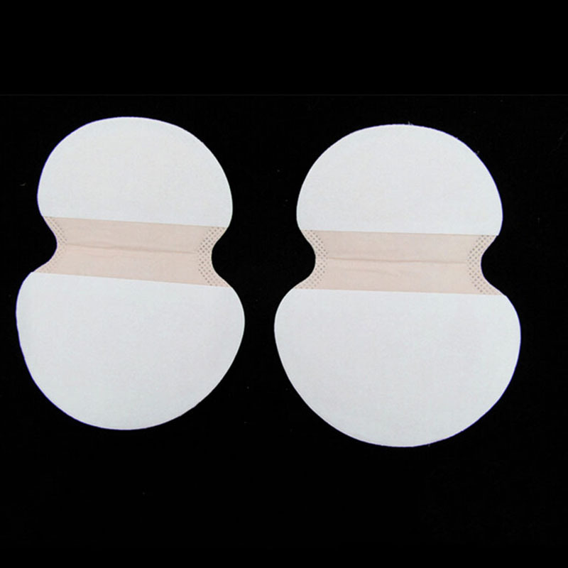 2Pcs=1 Pair  Womens Mens Summer Disposable Underarm Armpit Sweat Pads Absorbing Anti Perspiration Deodorant New Good Quality