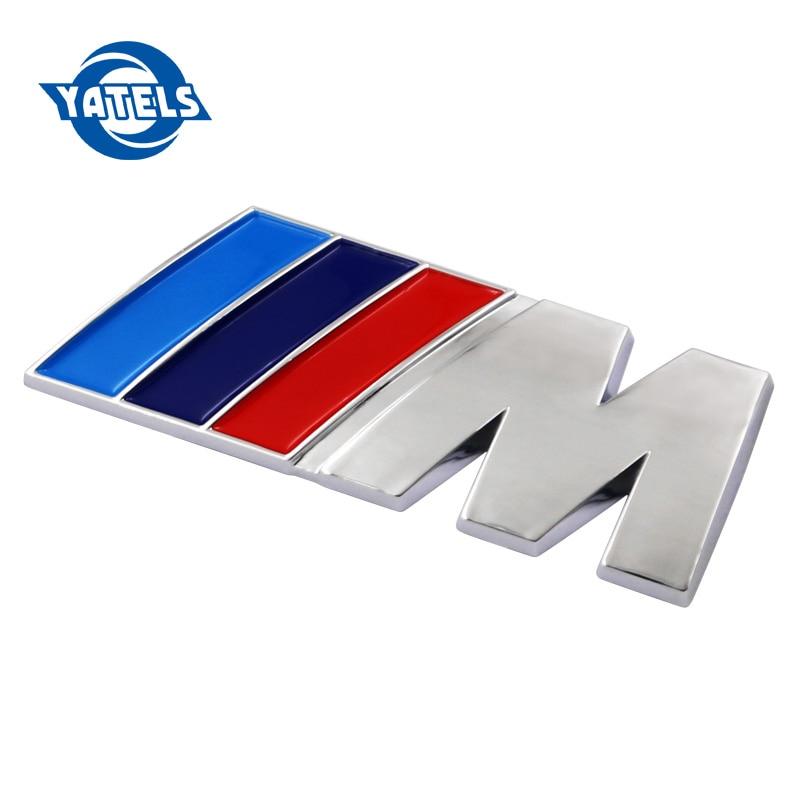 Car styling ABS Car M Power Performance Badge Fender Emblem Sticker M sticker for BMW E46 E52 E53 E60 E90 E93 F30 F20 M3 M5 M6 10pcs m mpower m tech emblem badge sticker wheel decal for bmw e46 e30 e34 e36 e39 e53 e60 e90 f10 f30 m3 m5 m6 car styling
