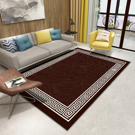 PAYSOTA Chinese Style Classical Carpet Living Room Bedroom Home Mats