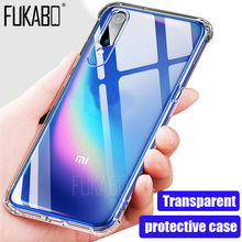 Stylish protective case for Xiaomi 9 SE mi 8 6 5 redmi note 7 6 5 Pro 4x Redmi 7 6A transparent case For mi Max 3 A1 A2 TPU case(China)