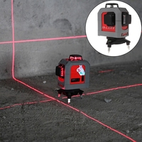 3D Laser Level 360 Degree 12 Line Self Leveling Tool 65ft 20m for Construction