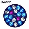Rayway e27 2uv 10 azul 6 branco led coral reef cresce a luz de alta potência lâmpada led aquário do tanque de peixes luz