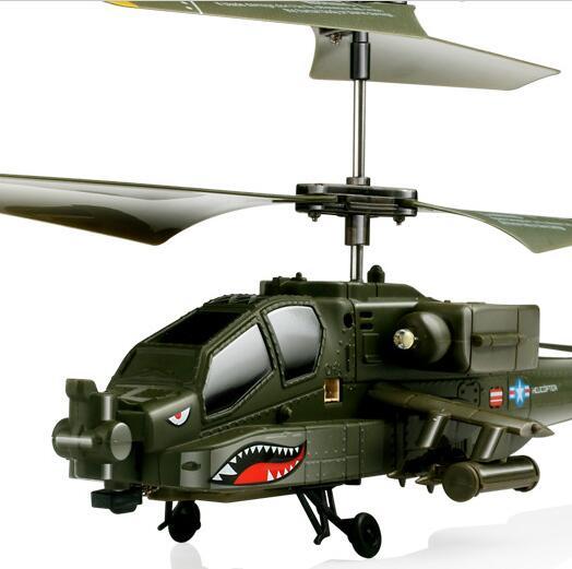 Syma S109s armée vert couleur Simulation militaire RC hélicoptère Radio lumière LED télécommandée avion mouche jouet pour les enfants