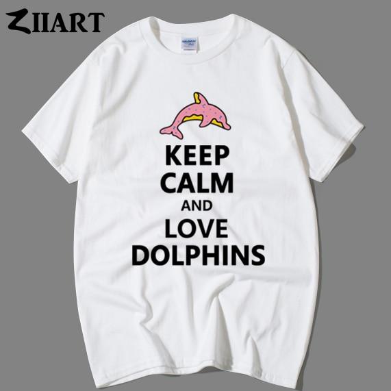 Tee Shirt Clothing Real Men Love Dolphins Shirt