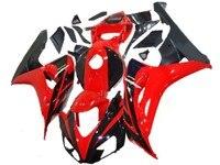 km 100% fit injection molded for HONDA CBR1000RR fairings cbr 1000 rr 06 07 Red black red yellow orange fairing set