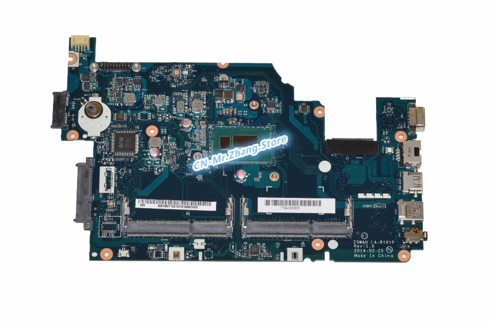 SHELI FOR font b Acer b font Aspire E1 571 Laptop Motherboard W I3 4005U CPU