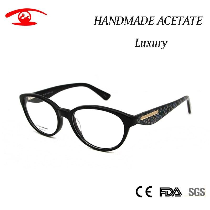 c9de426a90e High Fashion Glasses Women Optical Cat Frame Glasses Vintage Spectacle  Luxury Female Eyeglasses Frame Clear Lens -in Eyewear Frames from Women s  Clothing   ...