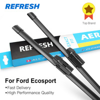 Wiper Blades For Ford Ecosport From 2013 Onwards 22 16 Bracketless Windscreen Car Accessory Clip Lock