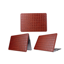 Chocolate Block Pattern Laptop Cases for Macbook Air Pro Retina 13.3 Inch Notebook Protective Case Cover with Radiator Hole(China)
