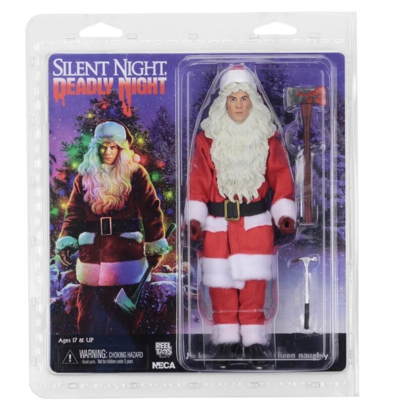 Neca Original silencieux nuit mortelle nuit Billy BJD figurine jouets poupées 18cm