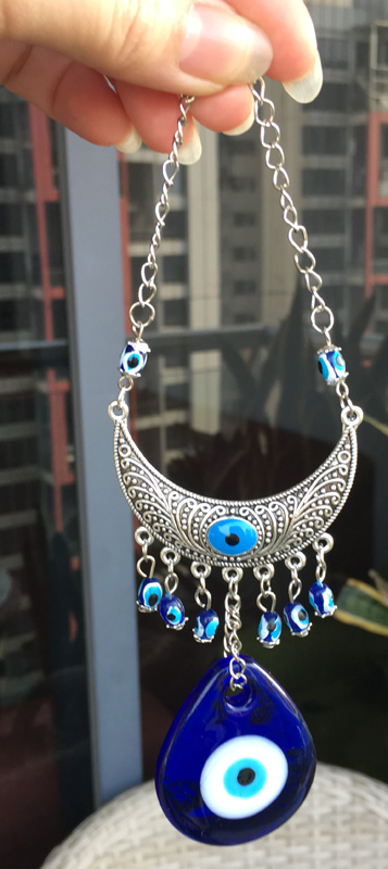 home office turkey. arbric evil eye charms hanging wall metal glass pendant turkey amulet nazar boncuk home decoration office