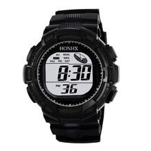 2019 New Arrival Digital watch men waterproof Fashion Mens Digital LED Analog Quartz Alarm Date Sports Wrist Watch 12.03
