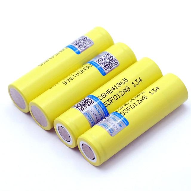 New Original HE4 2500mAh Li-lon Battery 18650 3.7V Power Rechargeable batteries Max 20A,35A discharge For E-cigarette 1
