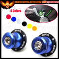 8MM Blue CNC Swing Arm Swingarm Sliders Spools For Suzuki GSXR600/GSXR 750 2006-2010 1000 1300 Sv650 HAYABUSA TL1000