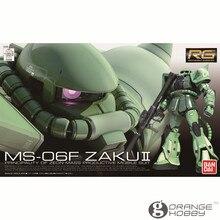 OHS Bandai RG 04 1/144 MS 06F Zaku II Mobile Suit Assembly Model Kits oh