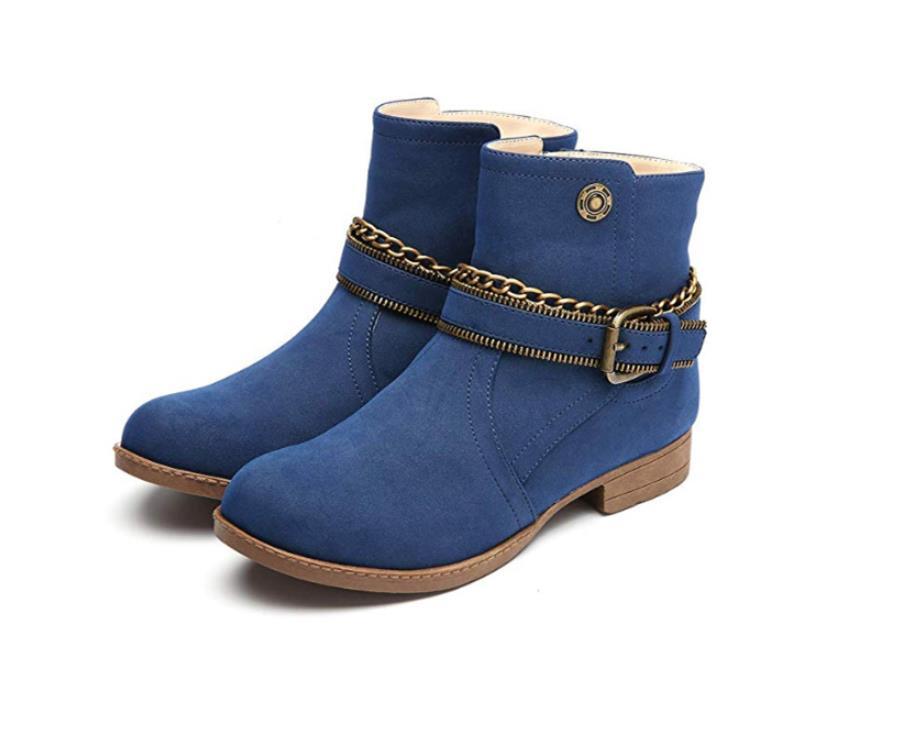 De États marron Martin Bottes Automne Noir Nouvelles D hiver Plus Velours Femmes  L europe Chaussures ... 63c3b88e9e73