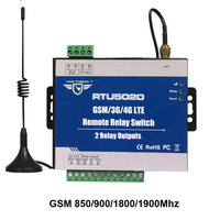 King Pigeon GSM 3G 4G SMS Remote Relay Switches For Remote Timer Switch 2 Relay Outputs