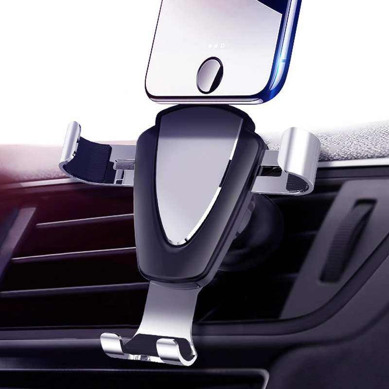 Mobile Phone Gravity Car Phone Holder For iPhone X XS NO Magnetic Air Vent Mount Car