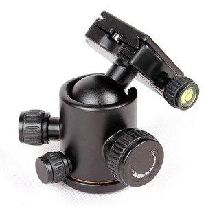 Image 2 - ใหม่ QZSD 02 อลูมิเนียมหัวขาตั้งกล้องขาตั้งกล้อง + Quick Release Plate สำหรับกล้องขาตั้งกล้อง, โหลดสูงสุด 15 กก.