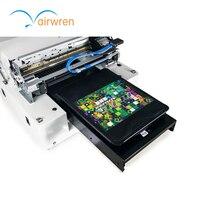A3 verdrahtete USB T Shirt Drucker Mit Niedrigen Kosten Digitale Uv flachbettdruckmaschine für Kleidung-in Drucker aus Computer und Büro bei