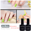Hot Sale Nails Art Easy Soak Off Solid Color Uv Gel Polish With Competitive Price