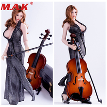 1/6 scale model musical instruments cello fit for 12 inches action figures scene not a guitar parts accessories