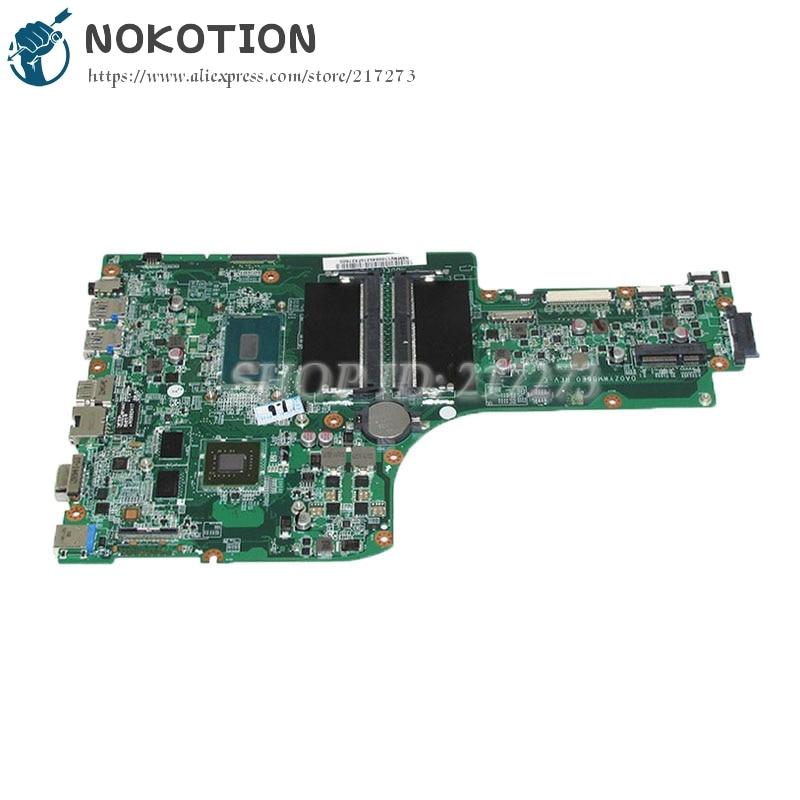 NOKOTION NBMNV11008 NB.MNV11.008 For Acer aspire E5-771G Laptop Motherboard DA0ZYWMB6E0 SR23W I7-5500U CPU GT840M Video card