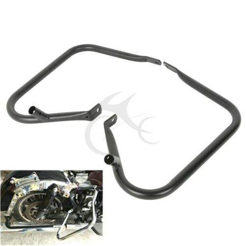 Saddlebag Bags Steel Guard Bracket For Harley Davidson Touring Models Road King Electra Glide FLHT FLHR FLTR 1997-2008